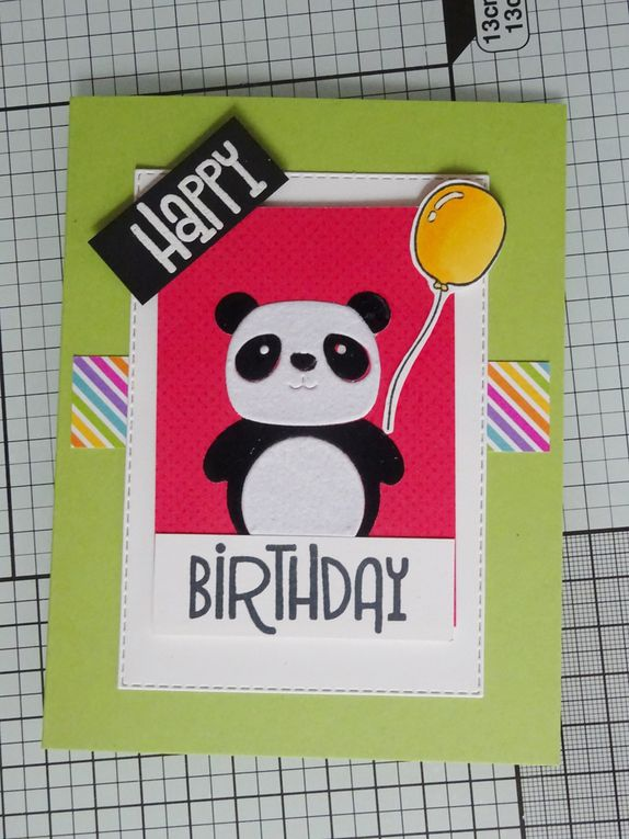 [Simon Says Stamp] kit du mois d'août Party Like a Panda