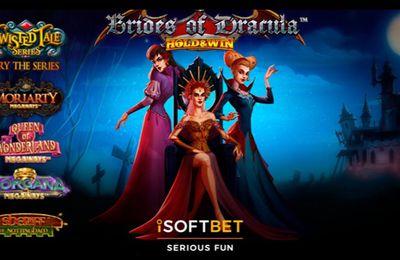 Brides of Dracula : la machine à sous Halloween 2021 du développeur iSoftBet