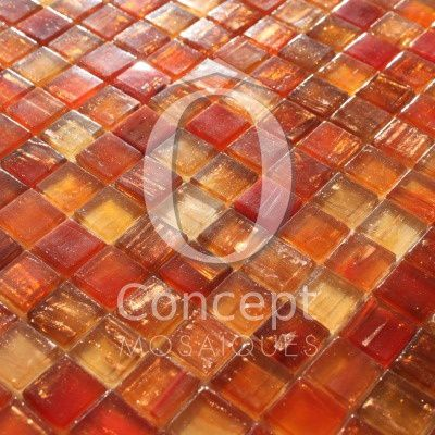 New Glass Mosaic Tiles by Ô Concept