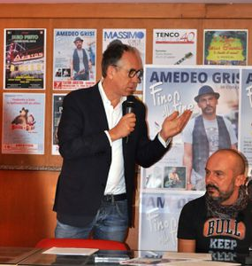 AMEDEO GRISI IN CONCERTO BENEFICO IL 7 OTTOBRE ALL` ARISTON DI SANREMO