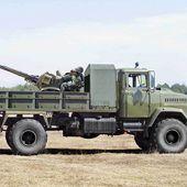 Camion KRAZ 260 4x4 avec canon anti-aérien ZU-23-2 au 1/43 (Par Hervé C.) -