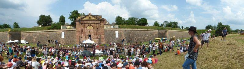 ça y est la fête des 10 ans de l'Unesco pour Neuf-Brisach est lancée