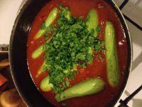Mini Courgettes en Sauce Tomates