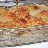 Lasagnes Océanes - La popotte à lolo