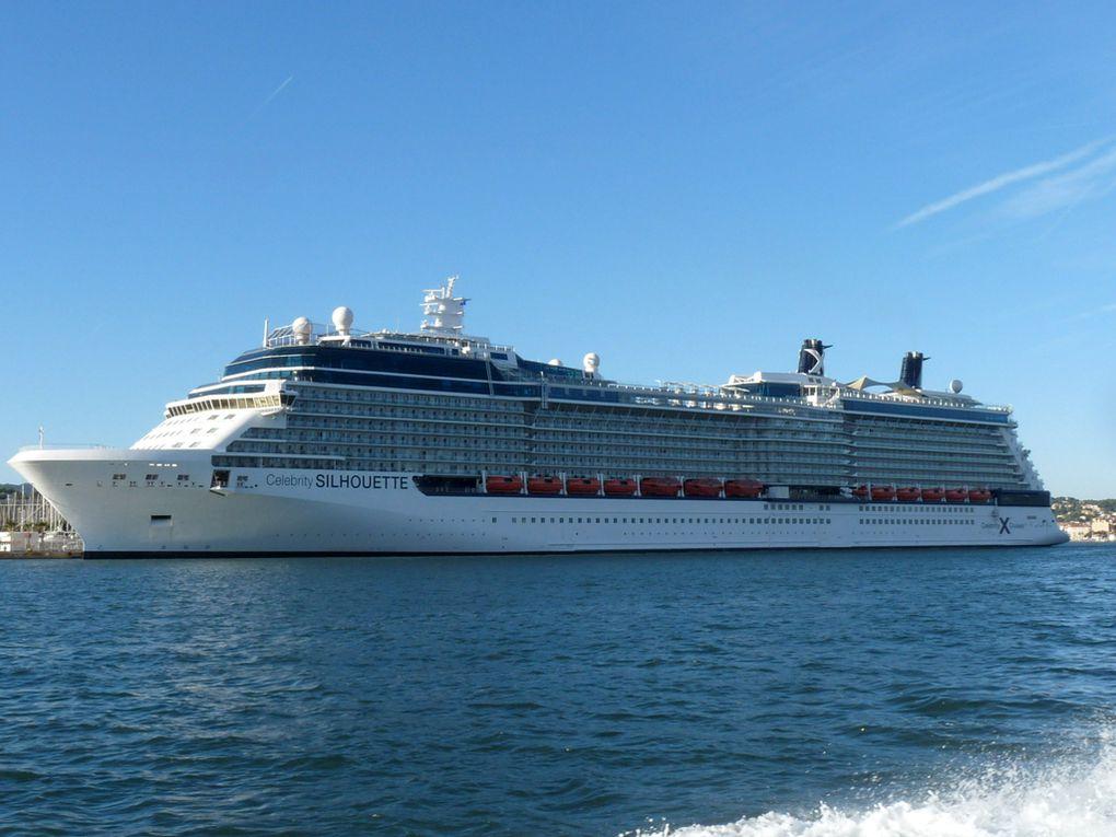 CELEBRITY SILHOUETTE , a quai à la Seyne sur Mer le 20 octobre 2016