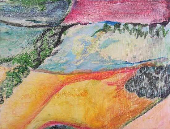 Peintures de Magda Rebutato - Martine Aubrey - Martine Lucy