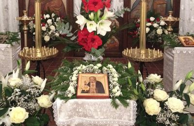 Праздник  Серафима Саровского - Fête Saint Séraphim