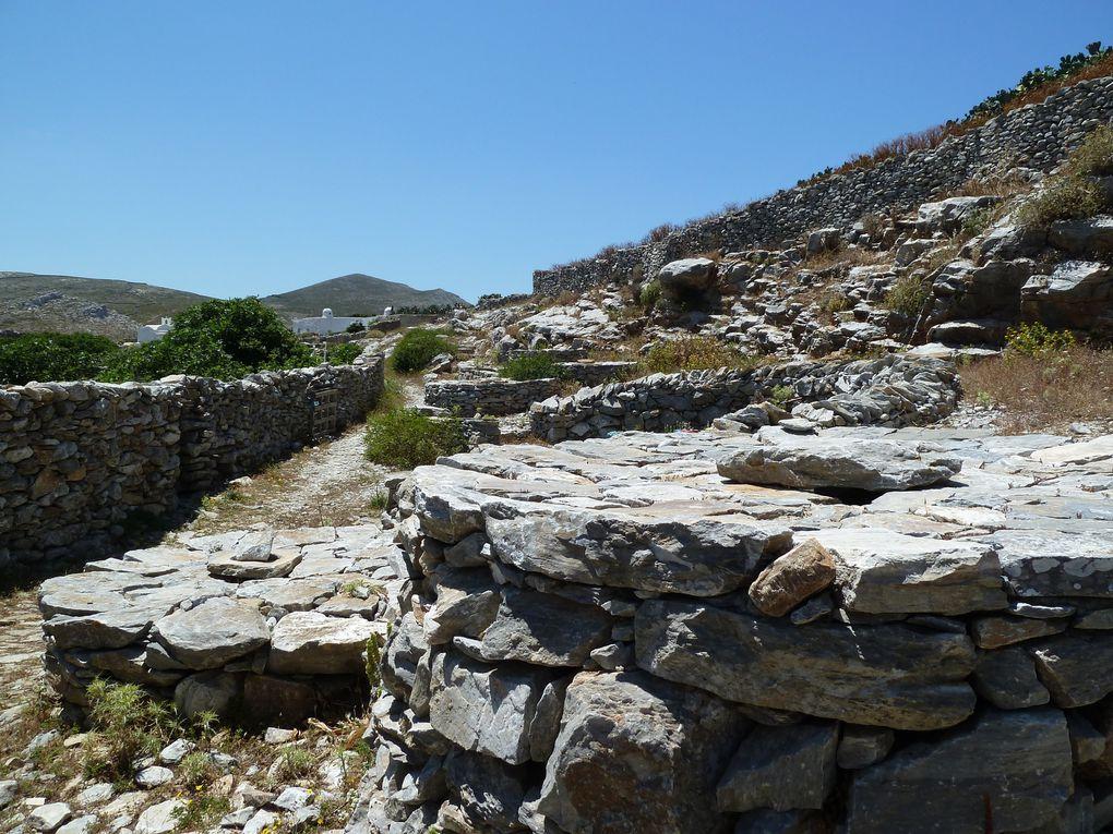 Le village est à l'abandon, il reste les fondations en pierre de huit moulins à eau, et des murs de pierres.