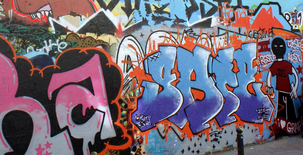 Album - Graffitis-Belleville