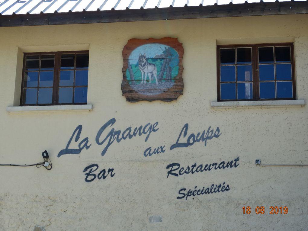 Le restaurant qu'on a choisi pour le midi .....