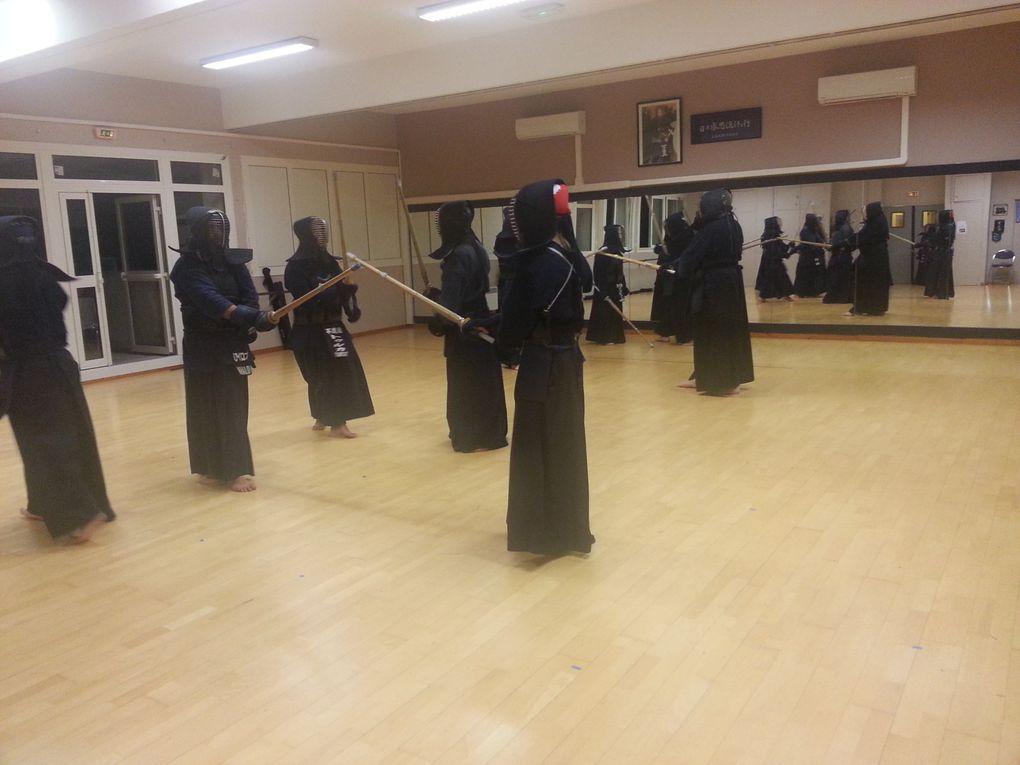 Reprise des entrainements 1er cours de  janvier 2014 au Dojo Fudokan