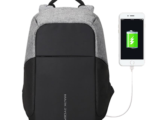 Benefits of secure backpack with USB charging port