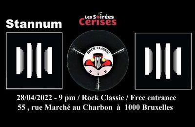 🎵 28/04/2022 - Stannum @ Rock Classic - 55, rue Maché au Charbon à 1000 Bruxelles - 21h00 - Entrée gratuite / Free entrance