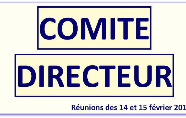 Compte-Rendu des réunions du Comité Directeur et du Conseil National