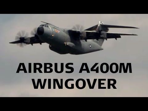 Airbus A400M Wingover First Display ILA Berlin 2010