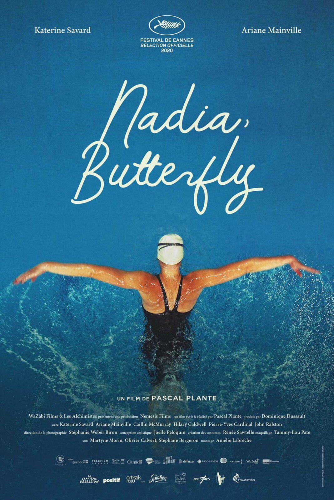 Nadia, Butterfly (BANDE-ANNONCE) de Pascal Plante - Le 4 août 2021 au cinéma