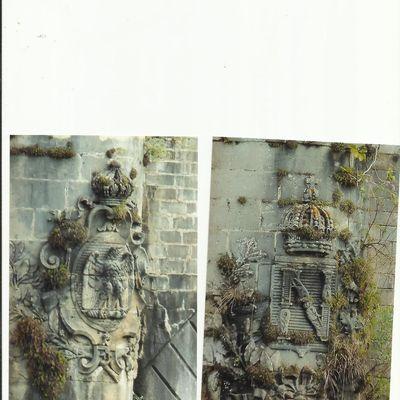 Les sculptures du pont SNCF-RENFE d'HENDAYE