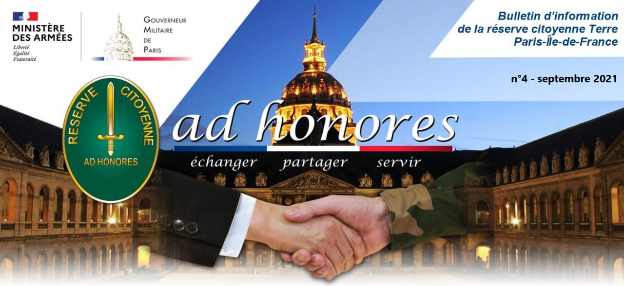 Bulletin Ad Honores N°4 - Septembre 2021