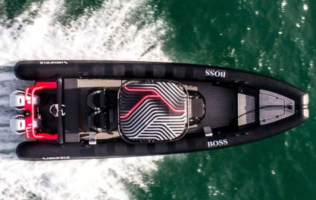 Scoop - Alex Thomson Racing (Hugo Boss) se dote d'un semi-rigide Highfield de compétition !