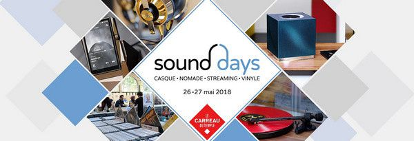 Sound Days 2018 : le best of de l'audio haut de gamme mondial