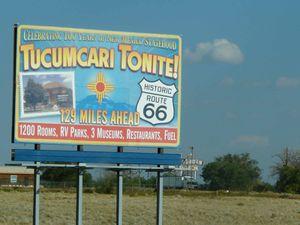 La Route 66 au Nouveau Mexique