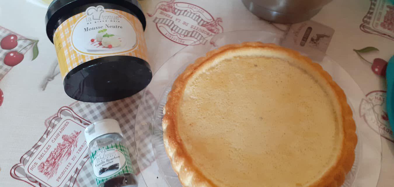 fond de tarte tiramisu/poire