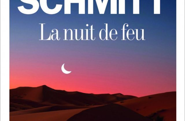 """""""La nuit de feu"""" d'Eric-Emmanuel Schmitt"""
