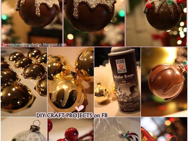 Relooker vos vieilles boules de Noël