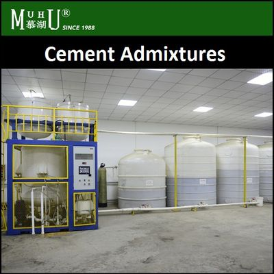 Our Cement admixtures are supplied in ready-to-use in Concrete - MUHU