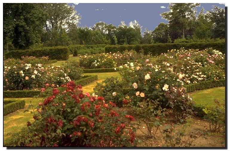 Carneville : le parc du château avant 1998