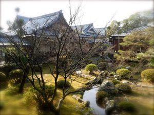 Kyôto : Arashiyama : Le temple impérial Daikaku-ji 大覚寺, du Grand Eveil