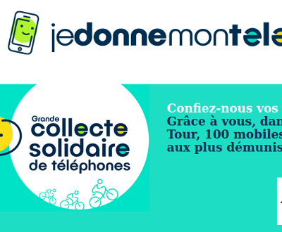 """""""jedonnemontelephone.fr"""", recyclage solidaire de vos mobiles"""