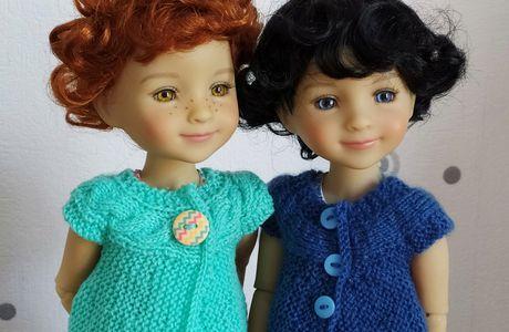 Lou, poupée Fashion Friends vous présente sa nouvelle amie.