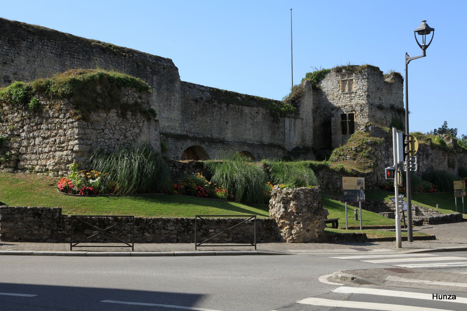 Fécamp, les ruines du palais ducal