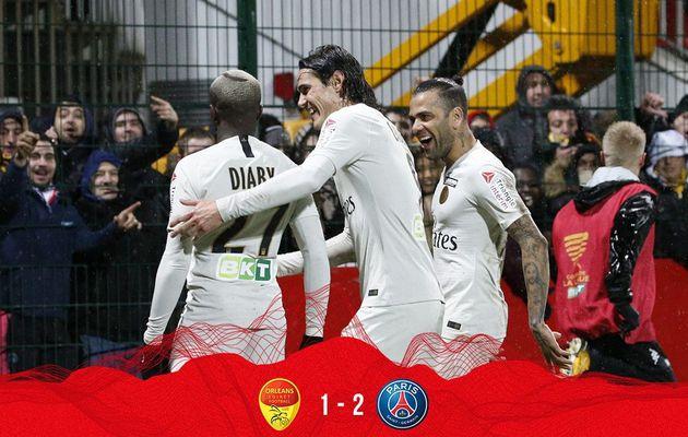 Cavani et Diaby portent le PSG en coupe de la ligue