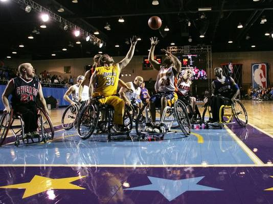 Wheelchair All-Star Game: Equipe de l'Ouest s'impose