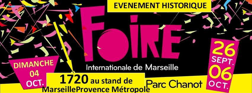 Promotion du Festival à la Foire internationale de Marseille