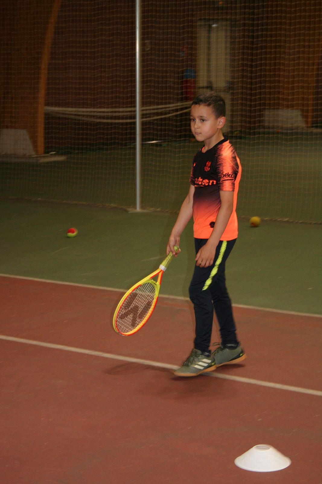 Stage Tennis-6/8 ans-Du 12 au 16 juillet 2021
