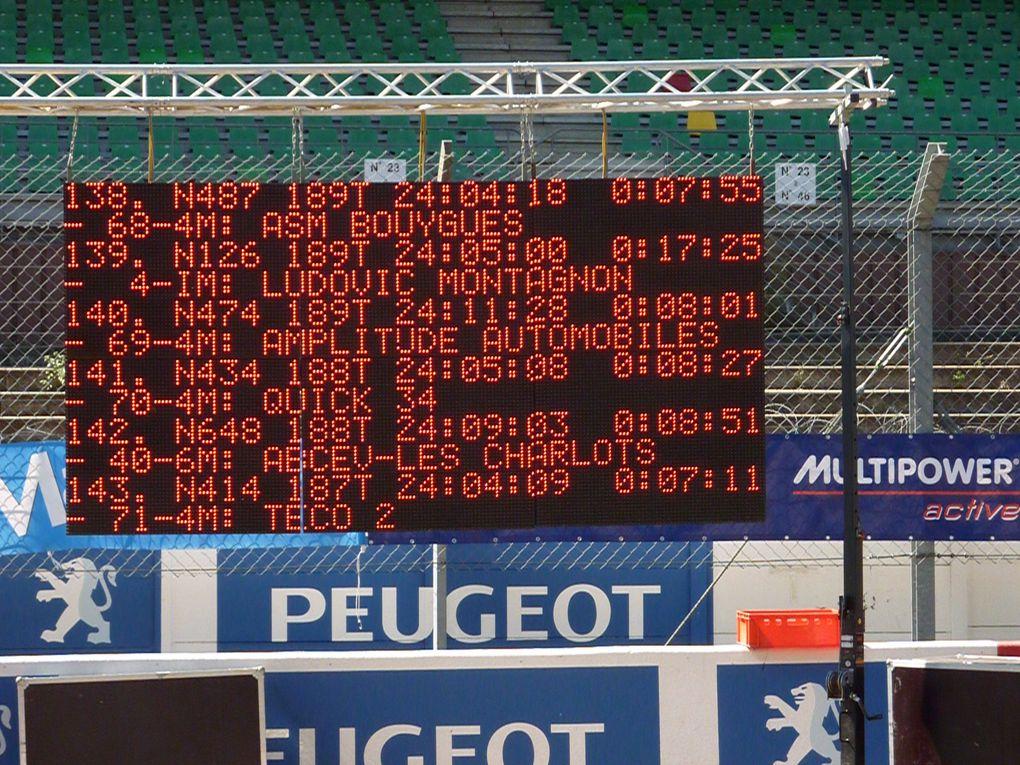 Les charlots sur la piste légendaire du circuit Bugatti pour les 1er 24h du Mans vélo les 22et23 août 2009