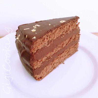 Gâteau chocolat tonka
