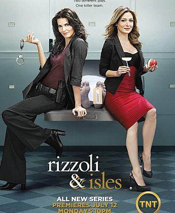 La série Rizzoli & Isles prochainement le lundi sur France 2.