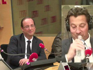 GERRA / HOLLANDE 17 AVRIL 2012 SUR RTL