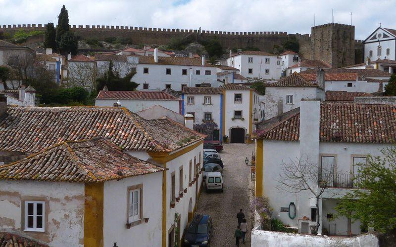 Les trottoirs au Portugal