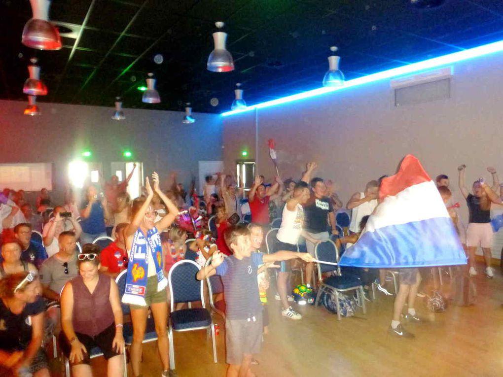 Grande joie parmi les supporters de tous âges avec cette victoire !