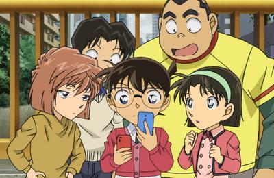 Détective Conan 764 Conan et Heiji: Le code de l'amour 2ème partie