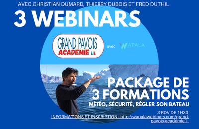 Grand Pavois Académie – 3 webinars destinés aux plaisanciers pour bien préparer la reprise des activités nautiques