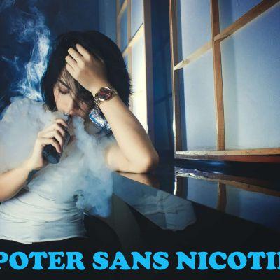 Vapoter sans nicotine: quelles sont vos options?