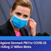 Lawsuit Filed Against Denmark PM For COVID-19 Restrictions & Killing 17 Million Minks | GreatGameIndia