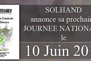 9ème Journée Nationale de SOLHAND Maladies Rares...