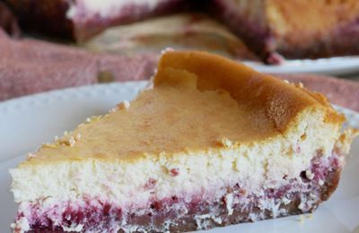 Cheesecake aux framboises inratable